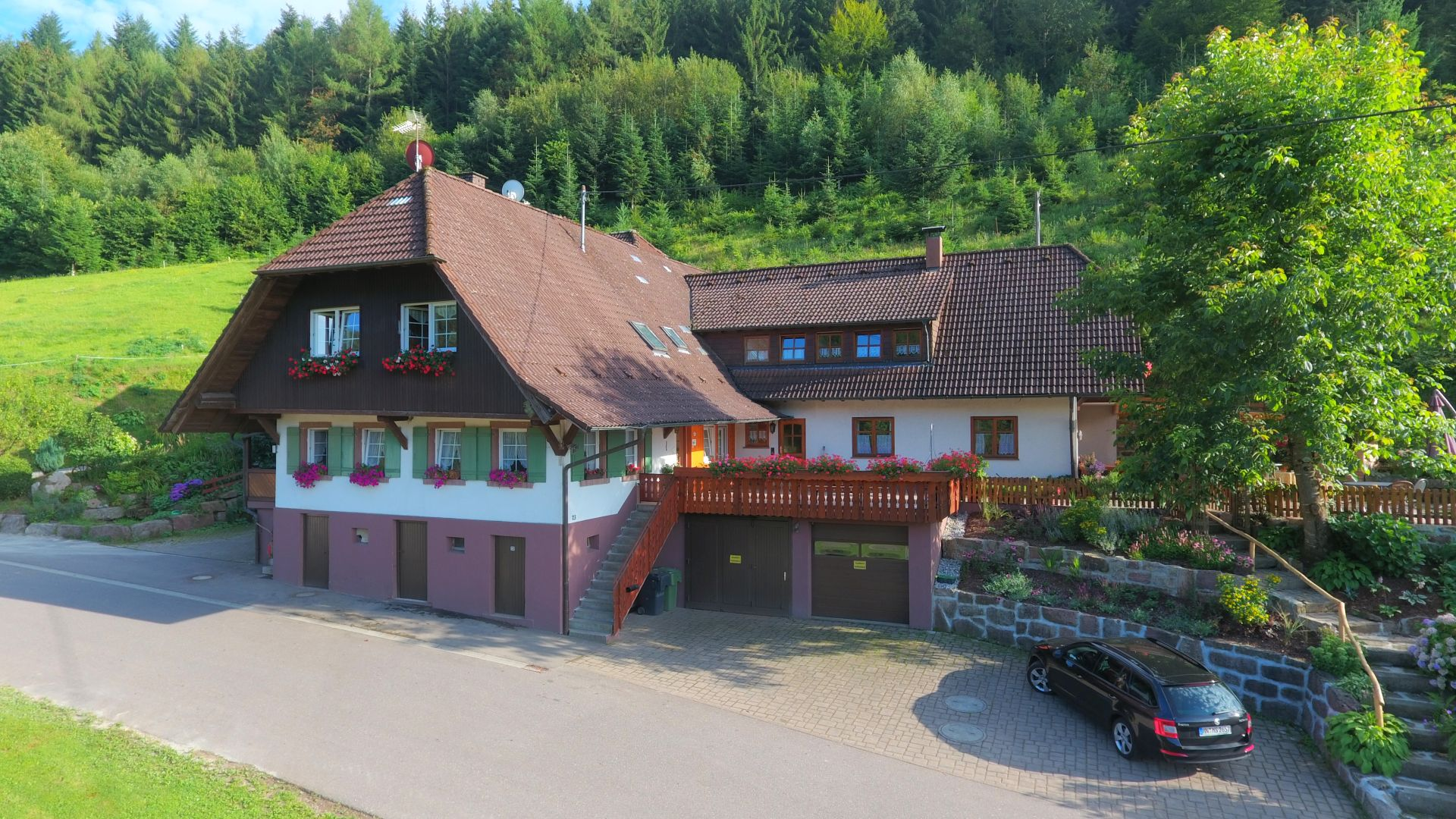 Der Wälderhof von Familie Armbruster in Zell am Harmersbach