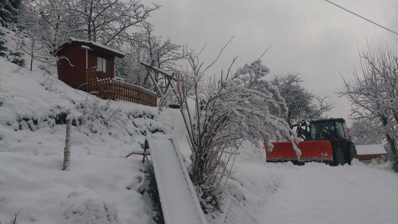 Wälderhof, Schneeräumen
