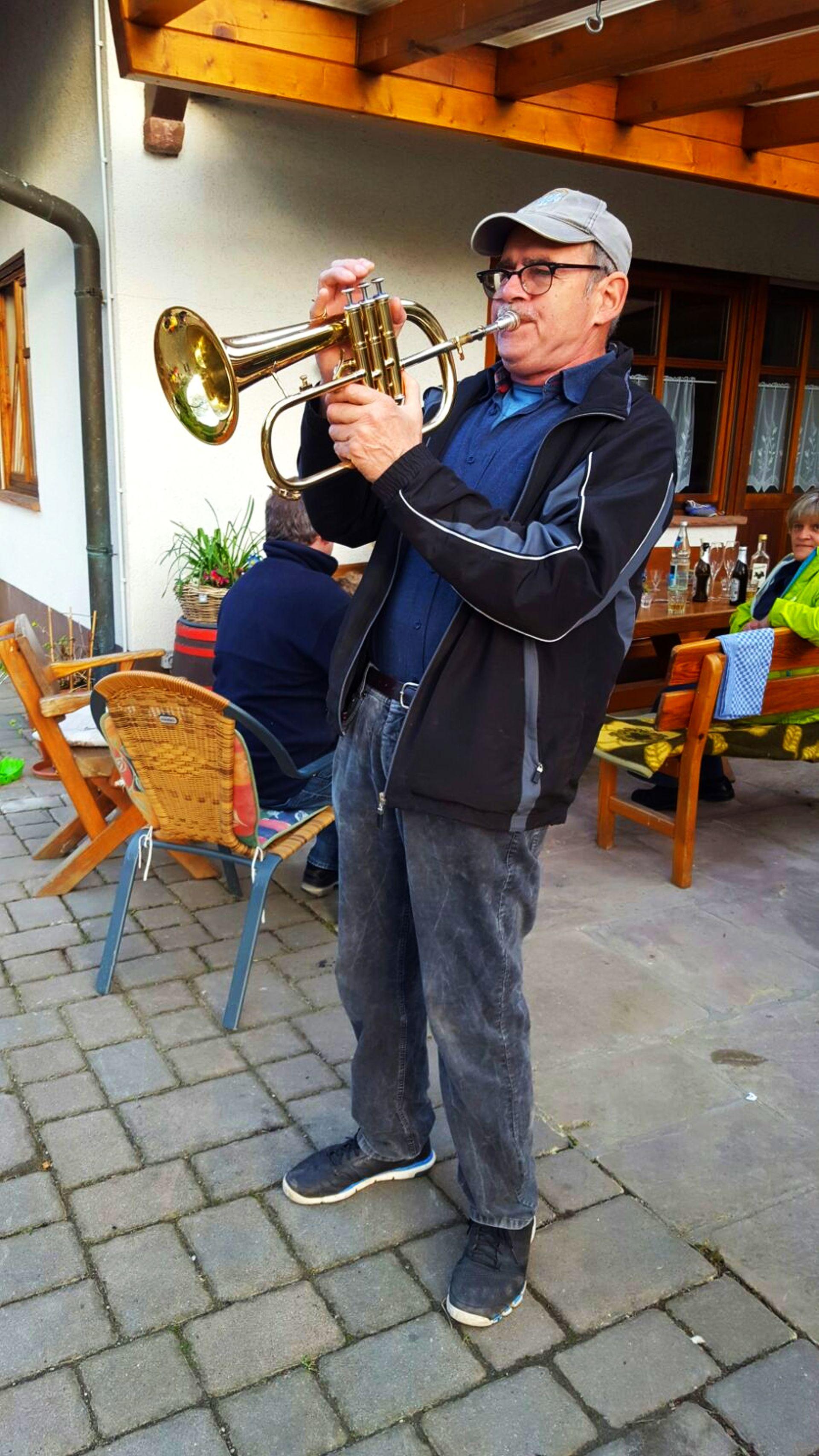 Trompetensolo von Alfred