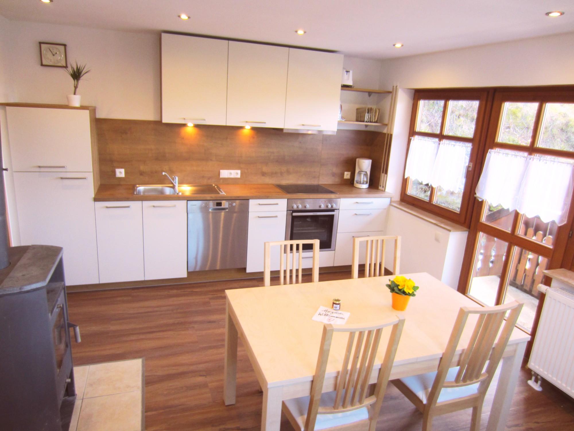 Wir renovieren, die Wohnküche ist fertig