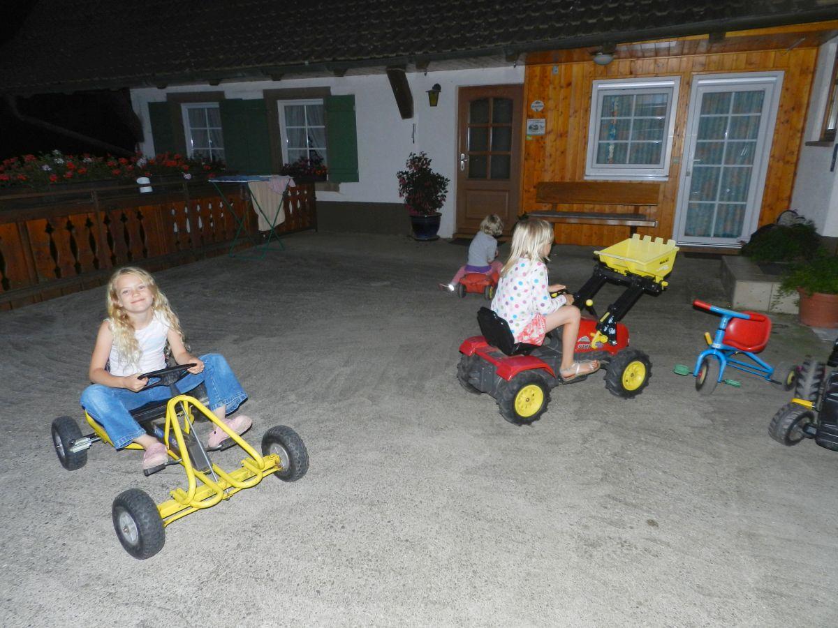 Ferienwohnung mit Spielzeug