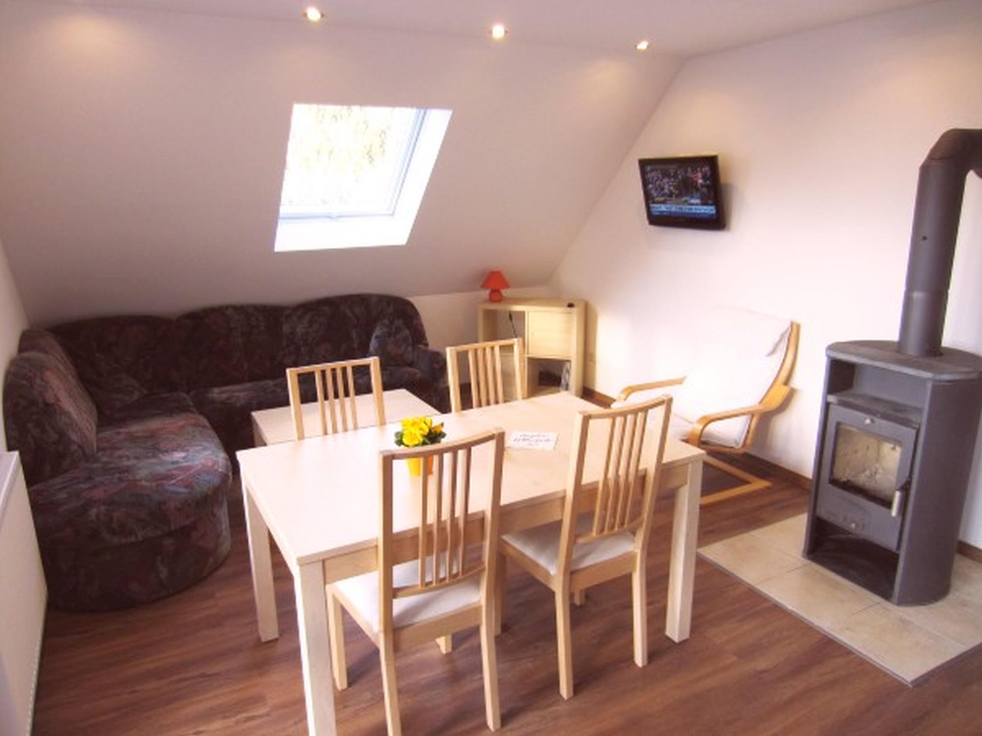 Livingroom Vacation-flat Balkonblick