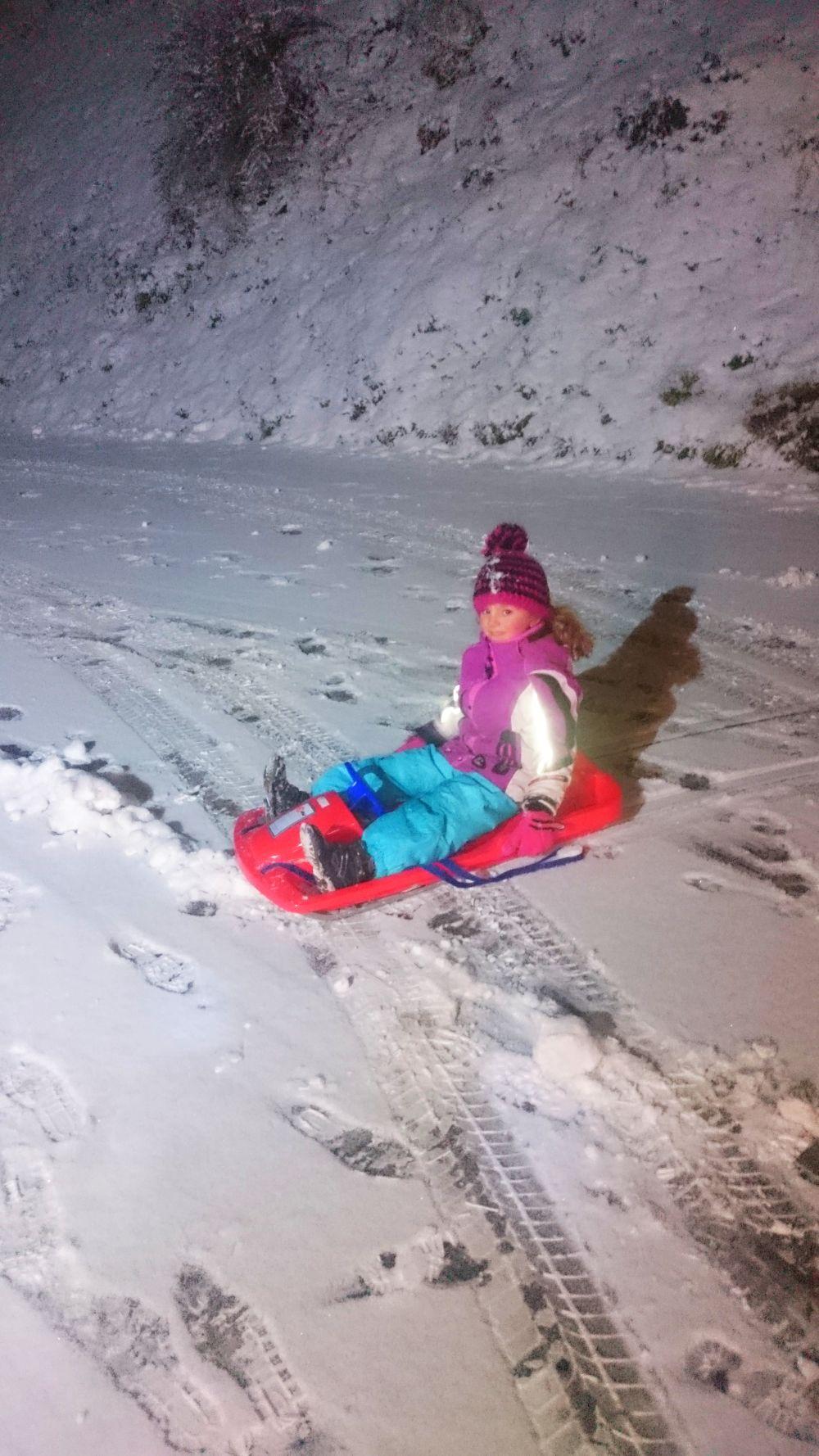 Der erste Schnee 2017 Waelderhof