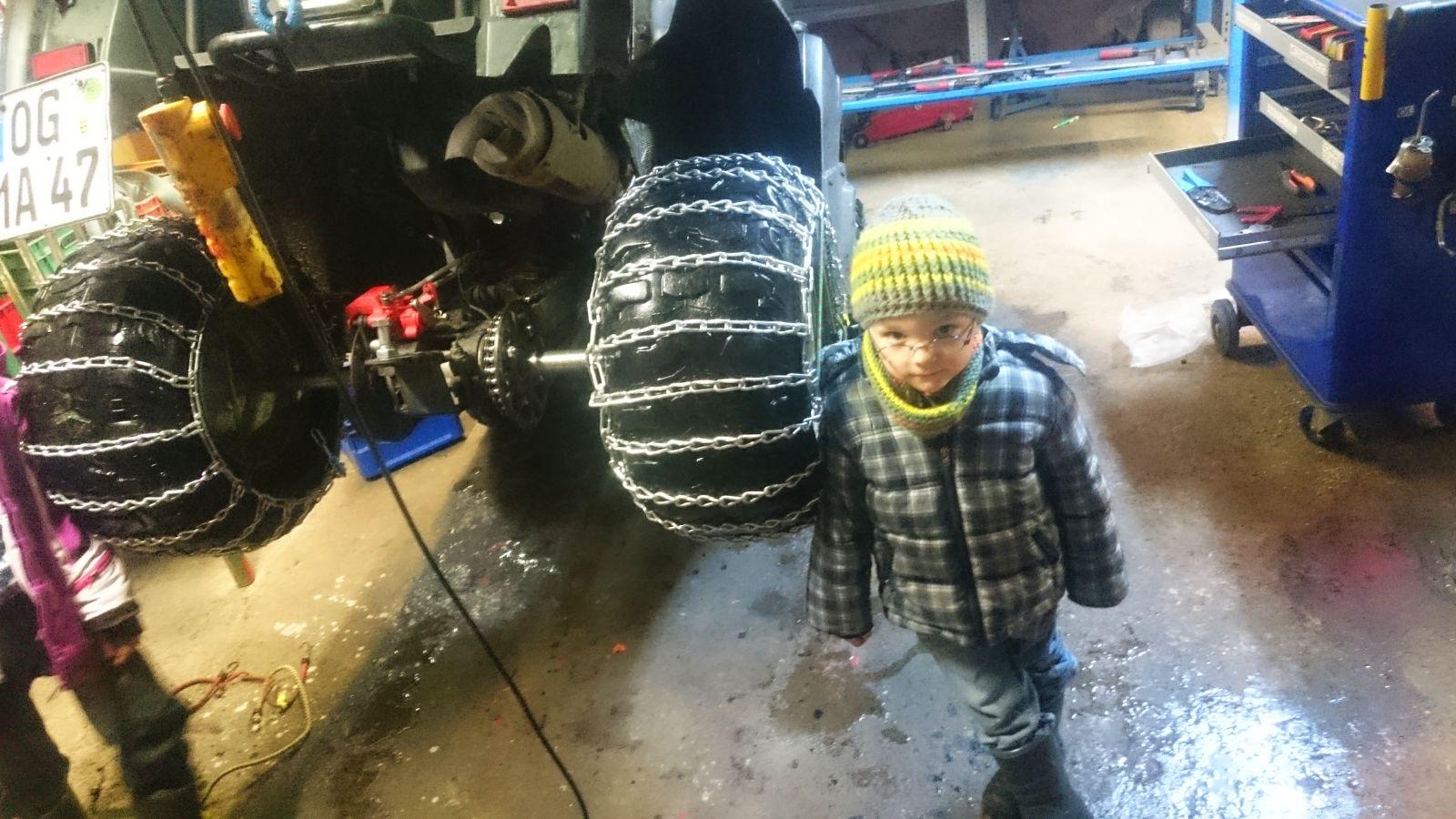 Es soll heftig schneien wir sind bereit
