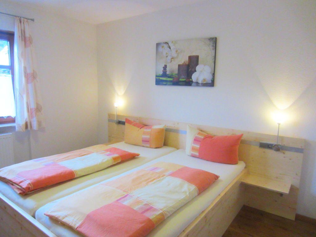 Schlafzimmer Ferienwohnung Terassenblick